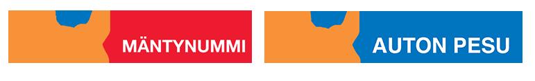 Akix Mäntynummi Akix Autonpesu logot